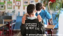 Corona-Krise in Deutschland   Schulunterricht   Maskenpflicht
