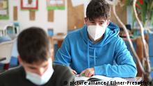 Corona-Krise in Deutschland | Schulunterricht | Maskenpflicht