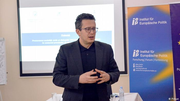 Vadim Pistrinciuc | Direktor Institut IPIS in der Republik Moldau