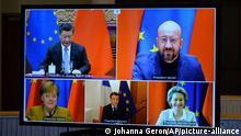 Belgien l Videokonferenz zu Investitionsabkommen zwischen EU und China
