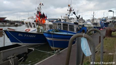 Frankreich Boulogne sur Mer | Fischerboote im Hafen