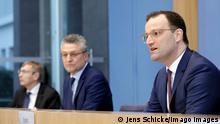 Deutschland Corona l PK Gesundheitminister Spahn und RKi-Chef Prof. Lothar H. Wieler
