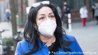 Berlińska senator ds. zdrowia Dilek Kalayci (SPD)
