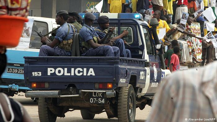 Angola Polizei