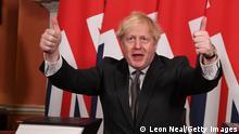 Großbritannien London | Boris Johnson unterzeichnet Brexit-Handelsabkommen