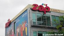 29.10.2019 Büro der Firma Zap Stadtteil Talatona in Luanda. Sie bietet Satelliten-TV in Angola und Mosambik an.