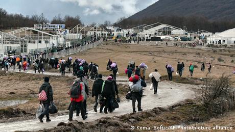 Πρόσφυγες στη Βοσνία: Σύμβολο της ευρωπαϊκής αποτυχίας