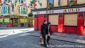 Irland Dublin   Coronavirus   geschlossene Pubs