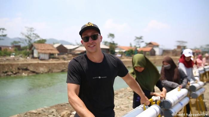 Start-up Plastic Fischer dari Jerman prihatin melihat polusi sampah di sungai-sungai Asia