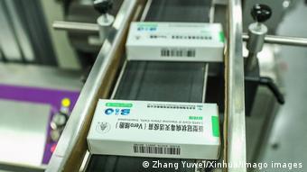 China Peking | Sinopharm Impfstoff