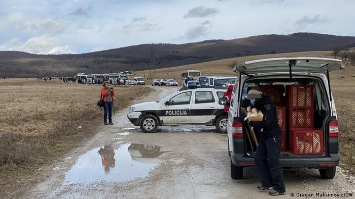 Bosnien und Herzegowina | Schliessung des Migrantenlagers Lipa in Bihac