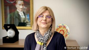 Emel Tüfekci, Leiterinder Wasser- und Abwasserverwaltung des Istanbuler Bezirks Kağıthane