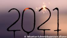 Silvester und Jahreswechsel zu 2021