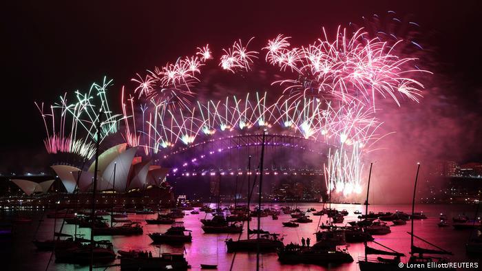 Australien Sydney | Silvester-Feuerwerk | Jahreswechsel zu 2021