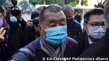 Hongkong | Jimmy Lai | Regierungskritiker zurück in Untersuchungshaft