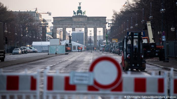 Arredores do Portão de Brandemburgo, em Berlim
