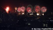 Jahreswechsel 2020 - 2021 |Silvester, Neujahr |Thailand, Bangkok