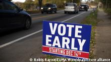 USA Vor der Stichwahl um Sitze im US-Senat - Georgia | Vote Early