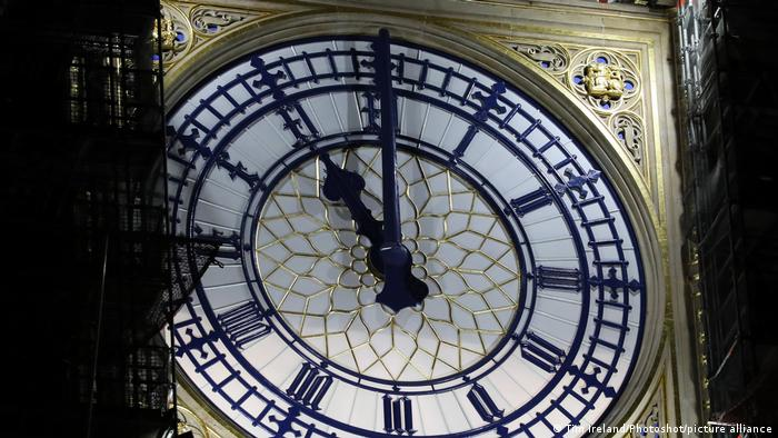 UK London Big Ben 23h nachts