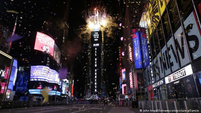USA Silvester 2020 New York