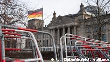 Aufbau für digitale Silvesterfeier Welcome Berlin 2021