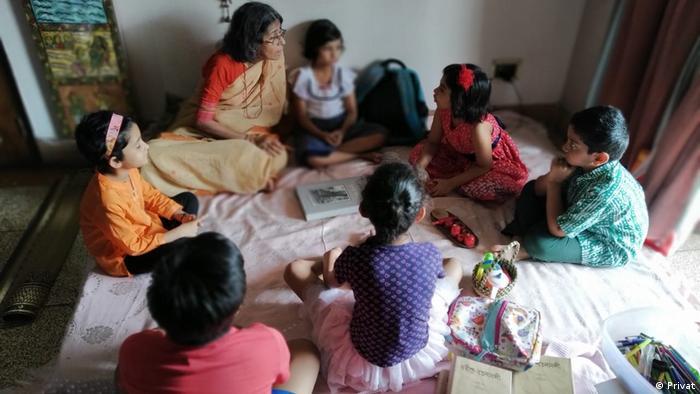 Indien Sudeshna Moitro aus Kalkutta