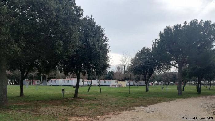 Kamp Kažela u Istri, pokraj Medulina