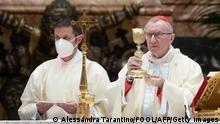Vatikan Petersdom | Kardinal Pietro Parolin zelebriert Neujahrsmesse