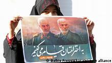 Iran ehrt Soleimani vor einem Jahr von den USA getötet