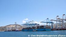 Marokko Seehafen Tanger-Med