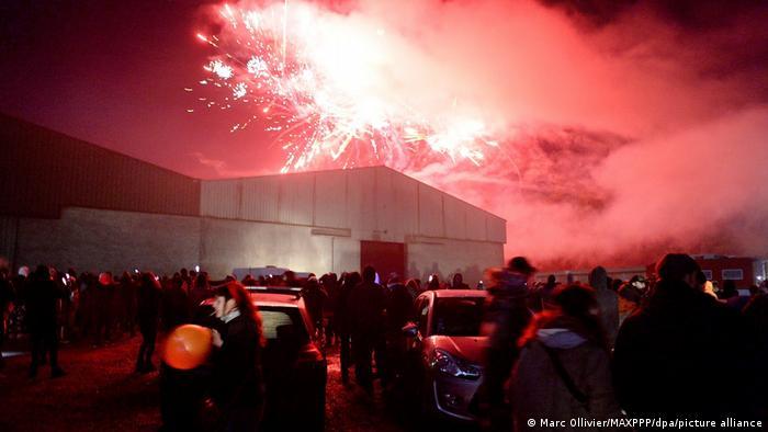 Frankreich | Rennes | Silvesterparty trotz Ausgangssperre