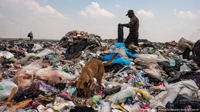 Mexiko: Mülldeponie bei Mexico-Stadt