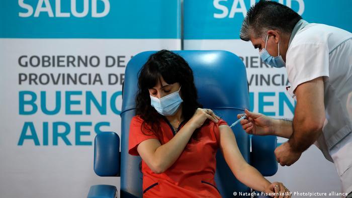 Argentinien Coronavirus Impfstart