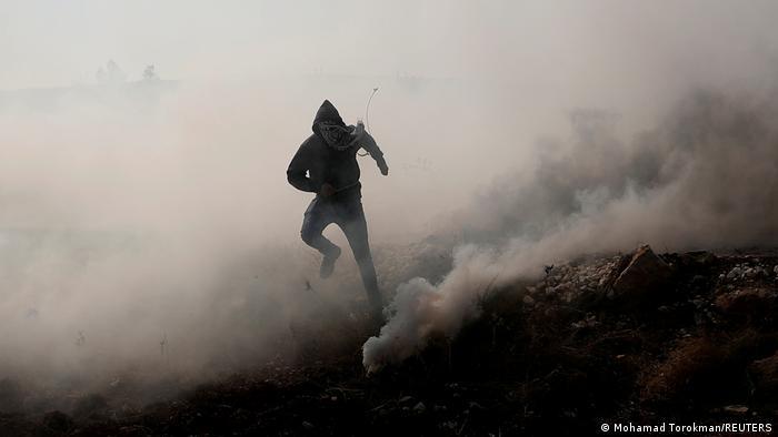 Protestas en Cisjordania.