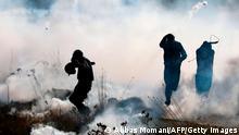 BdTD | Palästinenser protestieren gegen israelische Siedlungen im besetzten Westjordanland