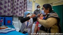 Indien Neu Delhi | Coronavirus: Testlauf vor Impfstart