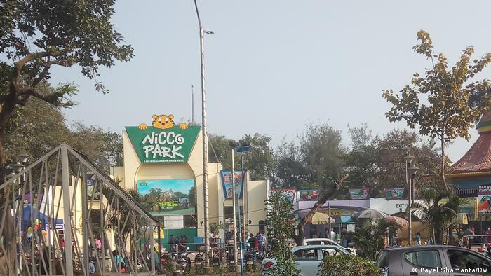 Indien Kalkutta Nicco Park am Neujahrstag