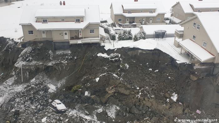 Зсув ґрунту в Норвегії