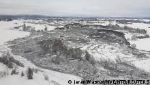 Norwegen Ask | nach Erdrutsch