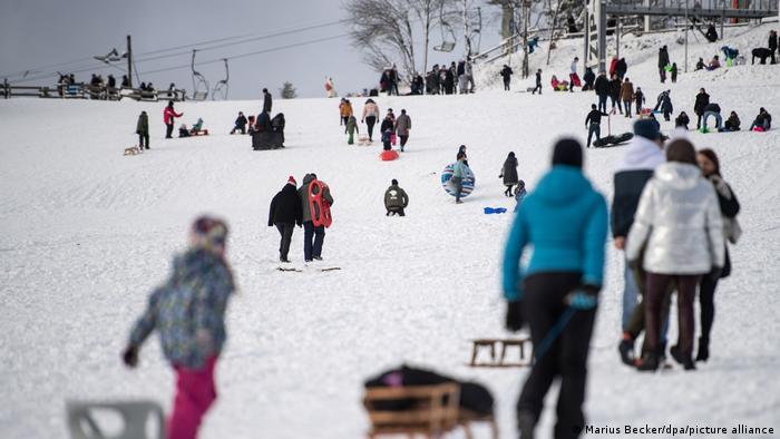 Coronavirus | Ansturm auf Skigebiete | Winterberg