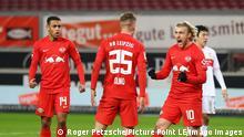 Deutschland Bundesliga Stuttgart gegen Leipzig   Tor Olmo