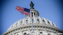 The US Capitol building is seen on a cold and sunny winter day as Congress is in session in Washington on December 29, 2020. - US President Donald Trump lashed out at the Republican leadership in Congress on Tuesday as he faces a humiliating first veto override in the final days of his term over his rejection of a defense bill. Including the defense bill, Trump has vetoed nine bills during his four years in the White House. Congress has not previously mustered the votes needed to override any of his vetoes. (Photo by Eric BARADAT / AFP) (Photo by ERIC BARADAT/AFP via Getty Images)