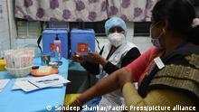 Indien Covid-19 Impfstoff