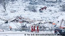 Norwegen Gjerdrum | Erdrutsch