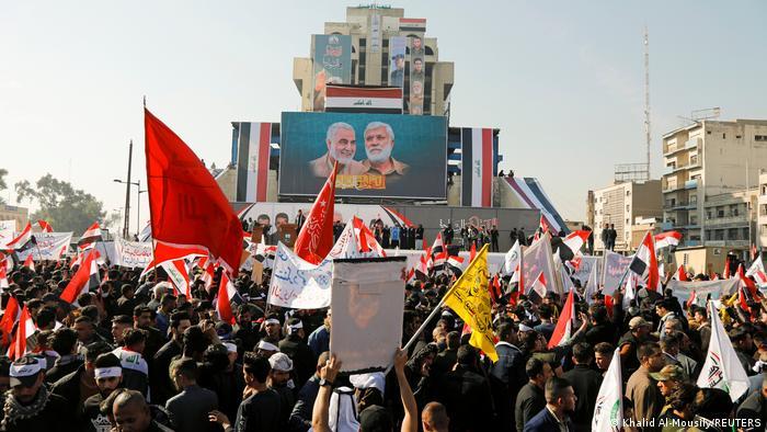 تظاهرات روز یکشنبه در بغداد