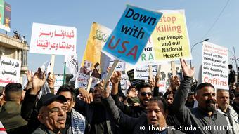 Ιράκ, Βαγδάτη, διαδήλωση