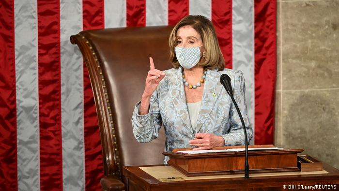 USA I Nancy Pelosi eröffnet 117 Kongress im Capitol in Washington