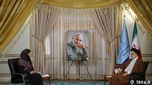 Iran Justiz-Chef Al-Manar Ebrahim Raeesi im Interview
