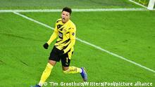 Deutschland Dortmund | Jubel Torschütze | Jadon Sancho