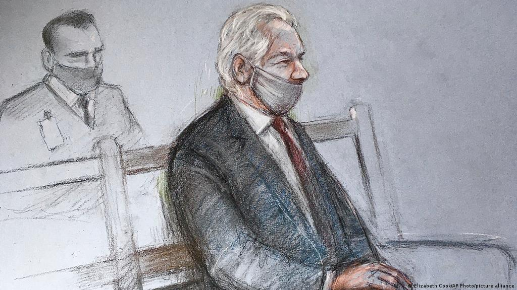 The case of Julian Assange: Rule of law undermined   World  Breaking news  and perspectives from around the globe   DW   20.04.2021